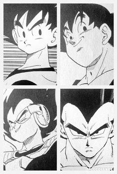 Vegeta and Goku - Visit now for 3D Dragon Ball Z compression shirts now on sale! #dragonball #dbz #dragonballsuper