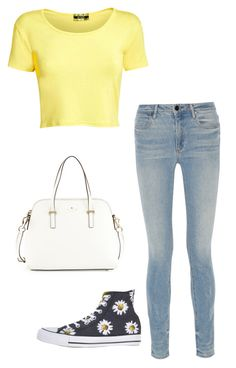 """Happy and bright"" by summerloveforever335 on Polyvore featuring Pilot, Alexander Wang, Converse and Kate Spade"