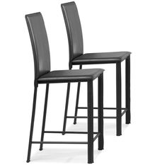 Black counter chairs
