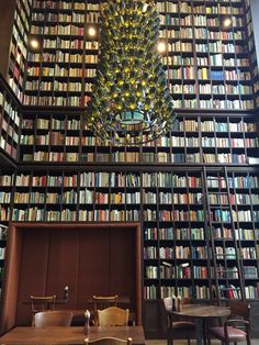 the library at B2Boutique Hotel