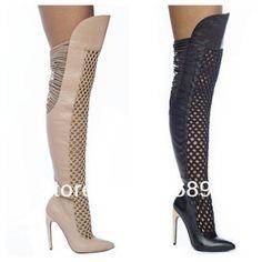 0dea0eec355 Women Sandals Gladiator Sandals Knee High Boots High Heel Genuine Leather  6-11  Other