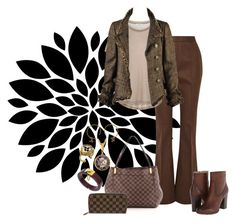 """""""Untitled #2628"""" by christinemusal ❤ liked on Polyvore featuring Marni, Samsøe & Samsøe, Chanel, Frye and Louis Vuitton"""