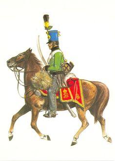 Hussards 4è-Rgt Hessen Homburg - 1805