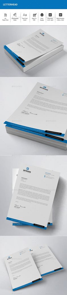 Letterhead Template Word Free small, medium and large images - ms word letterhead templates free download