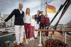 La Famille Royale Belge À Ostende, Le 1er Juillet 2017 5