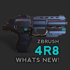 ZBrush 4R8 What's New!, Michael Pavlovich on ArtStation at https://www.artstation.com/artwork/x43rW