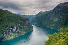 Geirangerfjord by Jon Lier on 500px