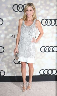 Julie Bowen in Jenny Packham with Jimmy Choo sandals & clutch attends the Audi and Altuzarra's Primetime Emmy Awards 2013 Kick-Off Party. #bestdressed