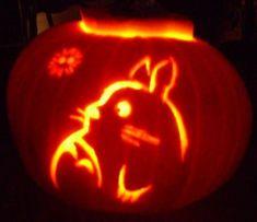 Totoro Pumpkin Totoro pumpkin