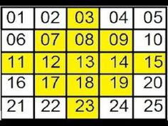 Aposta Espelho Inteligente Na LOTOFÁCIL - YouTube Lottery Book, Kalyan Tips, Sacred Geometry Symbols, Lottery Numbers, Periodic Table, Youtube, Make Money Games, Winning The Lottery, Make Money At Home