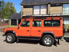Our Land Rover Defender G4 110