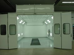 Paint Booth (clean room) for clear coating or occasional spraying