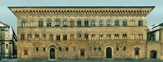 Palazzo Medici, Florence. Cosimo had this built in the spirit of Greek principles of order and balance, i.e., in quintessential Renaissance style.