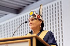Brock University's new Chancellor Shirley Cheechoo made history Saturday when she was installed during an emotional and inspiring ceremony in front of hundreds of graduates.
