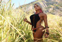 Boa forma: Janaina Santucci exibe corpo em dia em ensaio