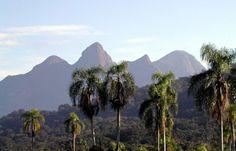Montanhas no Parque Estadual dos Três Picos, Rio
