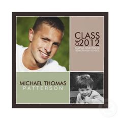 Find the best graduation announcements and invitations for 2012. Start planning the graduation party early