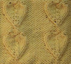 1000+ images about Raised knitting stitches on Pinterest Lace knitting stit...