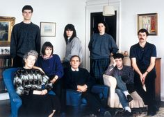 Thomas Struth, 'The Smith Family, Fife, Scotland 1989' 1989
