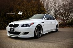 custom silver bmw m5 Wallpapers HD