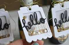 New Year's Eve Shaker Tags (Amy Sheffer)