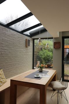 Conservatory Interiors, Victorian House Interiors, Victorian Terrace House, Victorian Homes, Glass Extension, House Extension Design, Rear Extension, Extension Ideas, Home Library Design