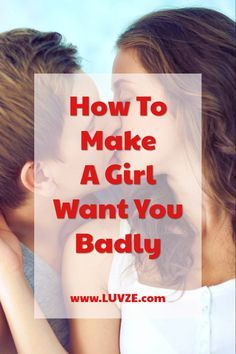 Are you wondering how to make a girl want you badly? Wonder no more! Here are 19 easy ways you can make a girl want you. Sexless Marriage, Bad Marriage, Marriage Advice, Happy Marriage, Healthy Relationship Tips, Healthy Relationships, Relationship Advice, Relationship Questions, Life Advice