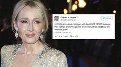 JK Rowling Slams Donald Trump Supporters On Twitter #DonaldTrump, #HarryPotter, #ImmigrationBan, #JKRowling, #KimKardashian celebrityinsider.org #Lifestyle #celebrityinsider #celebritynews #celebrities #celebrity #rumors #gossip