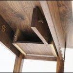 Secret Compartment Under Console Table