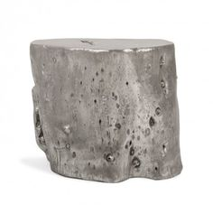 Origin Log Stool Silver Ii ABC Carpet and Home