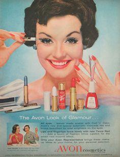 Retro 50's Housewife Vintage Avon Magazine par TheVintageResource