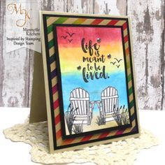 Introducing Seaside stamp set - Inspired by Stamping