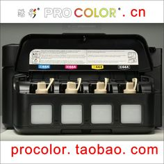 PROCOLOR 664 CISS Best Quality dye ink refill kit For Epson Expression ET-2500 ET2500 ET 2500 4550 ET-4550 ET4550 inkjet printer