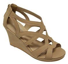 Top Moda Soap-50 Women's open toe wedge heel zip closure hollow strappy upper suede sandals Tan 8 Top Moda http://www.amazon.com/dp/B00WAQ2N52/ref=cm_sw_r_pi_dp_CaW.vb0YRZ7K5