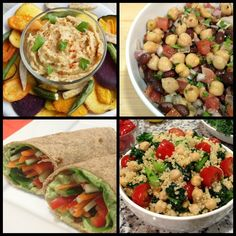 Although not my food creations, they could be one day!!!!  5 Picnic Food Ideas