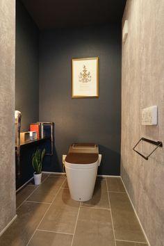Japanese Modern, Japanese House, Modern Toilet, Guest Toilet, Toilet Design, Carriage House, Bathroom, House Styles, Interior