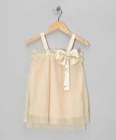 Another great find on #zulily! Oyster Bow Shift Dress - Girls by Sweetheart Jane #zulilyfinds