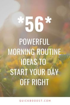 Use these morning routine ideas to start your day off on the right foot. Utilize them to be more productive, enhance your time management, and achieve your goals! Time Management Activities, Time Management Printable, Time Management Quotes, Management Books, Time Management Skills, Productive Things To Do, Things To Do At Home, Productive Day, High School Activities