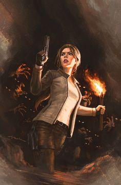 Tomb Raider - Lara Croft by Andy Park