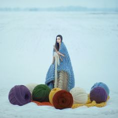 It's Friday so let's just get lost in Ukranian photographer Oleg Oprisco's surreal photographs . . .