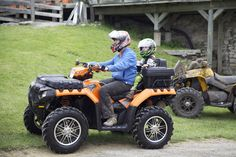 Families enjoy the fun at the #KATVA - #KawarthaLakes Community Living Poker Run held on June 1, 2013 at Log Chateau Park in #FenelonFalls. #ATV #Family fun. Photo By Corrie Hynes