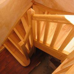 06-05 Escalier 1/4 tournant traditionnel
