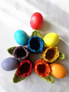 Easter Tulip Egg Cozy