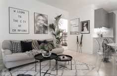 If you want a Scandinavian living room design, there are some things that you should consider and implement for this interior style. Home Interior, Home Living Room, Interior Design Living Room, Living Room Designs, Living Room Decor, Interior Livingroom, Gravity Home, Living Room Inspiration, My New Room