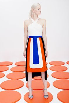 ap-fashionmemories: Collection - SS16 - Novis - New York Fashion Week inspired by Clarice Cliff