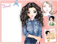 Cartoon People, Cartoon Images, Outfit Zusammenstellen, Drawings Of Friends, Party Tops, Vogue Fashion, Cute Dolls, Girly, Anime