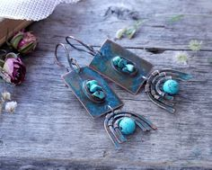 Hey, I found this really awesome Etsy listing at https://www.etsy.com/listing/267659317/earrings-copper-vintage-boho-style