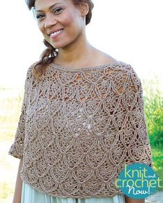 Free Lisbon pattern download Design by Berrocco design by Robyn Chachula Featured in Season 6, episode 3, of Knit and Crochet Now! TV.