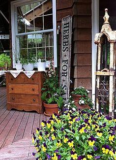 Rebecca's back deck in Oregon | Flickr - Photo Sharing!