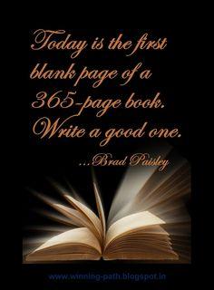 Write a good one... okay😏